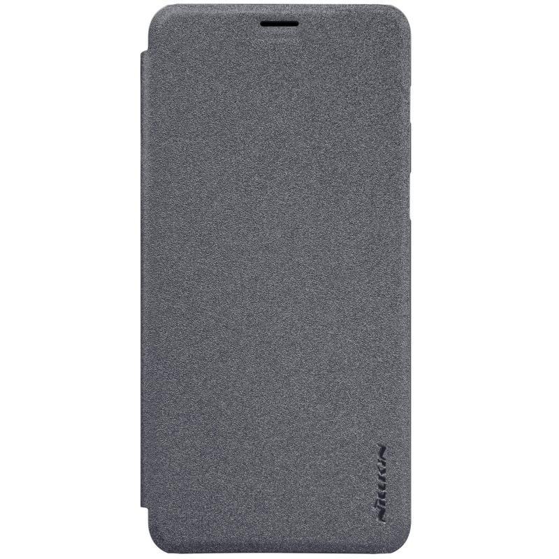 Husa Samsung Galaxy A8 2018 A530 Nillkin Sparkle Flip Gri