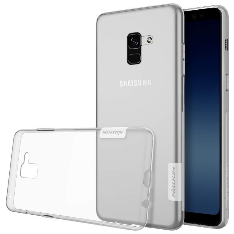 Husa Samsung Galaxy A8 Plus 2018 A730 Nillkin Nature UltraSlim Transparent