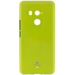 Husa HTC U11 Plus Goospery Jelly TPU Verde