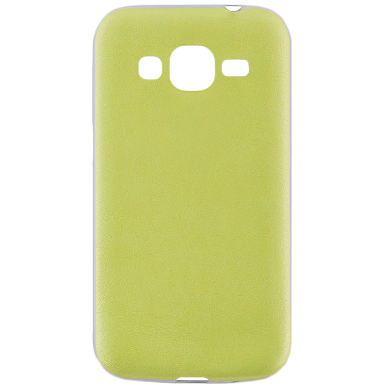 Husa Samsung Galaxy Core Prime G360 Jelly Leather - Verde