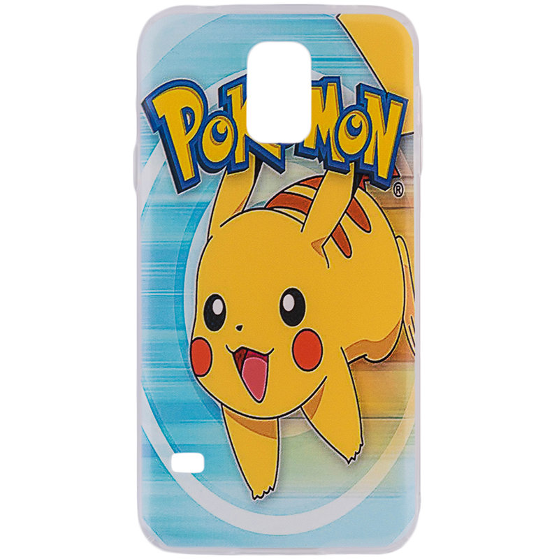 Husa Samsung Galaxy S5 G900 Plastic cu Model Pokemon Cute Pikachu