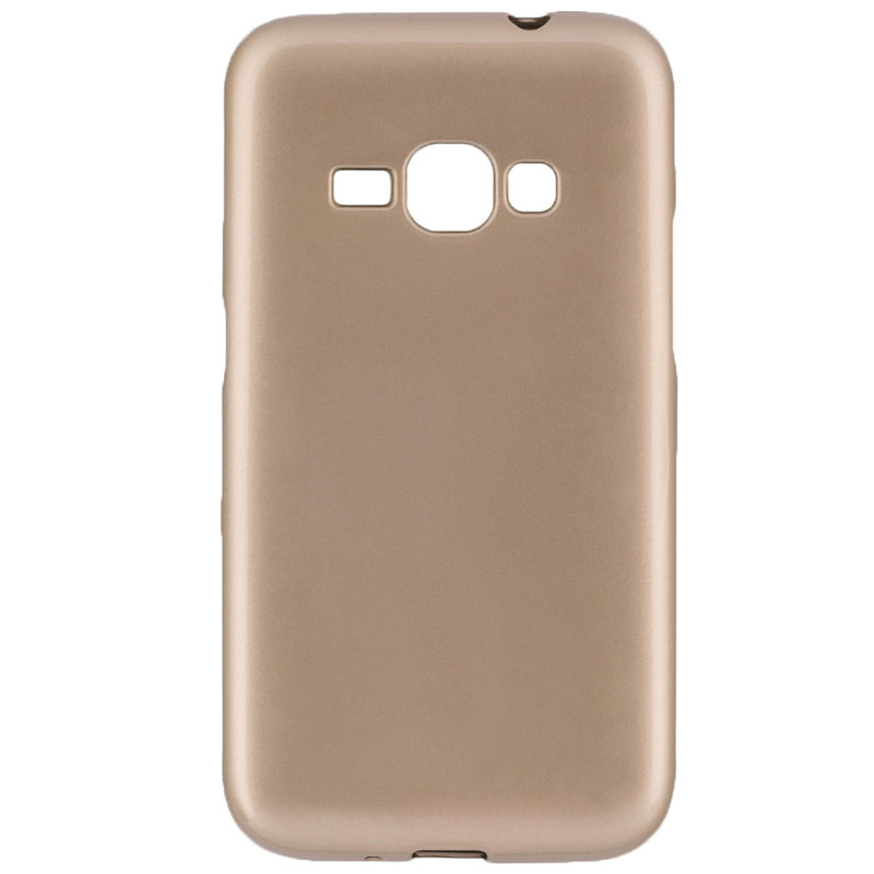 Husa Samsung Galaxy J1 2016 J120 TPU Flash Auriu