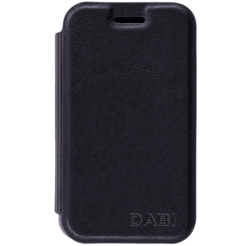 Husa Orange Dabi / Alcatel Tribe OT-3040D Toc Flip Carte Negru CN