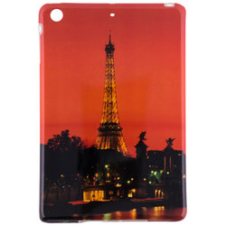 Husa Apple iPad Mini 1 / 2 Silicon Gel TPU Night In Paris