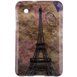 Husa Samsung Galaxy Tab 2 7 inch P3100 Silicon Gel TPU Eiffel Tower