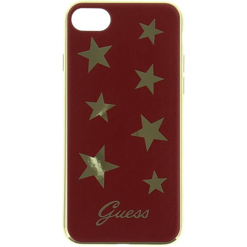Bumper iPhone 7 Guess Stars - Red GUHCP7STARE