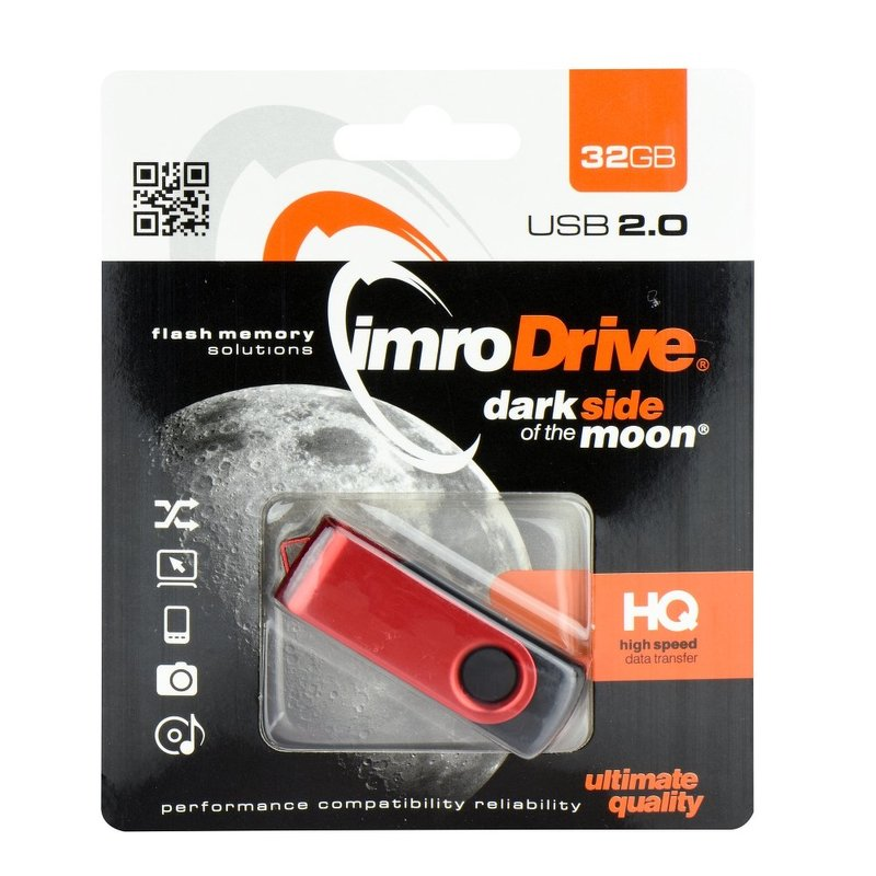 Stick USB 2.0 32 GB Imro Axis Red