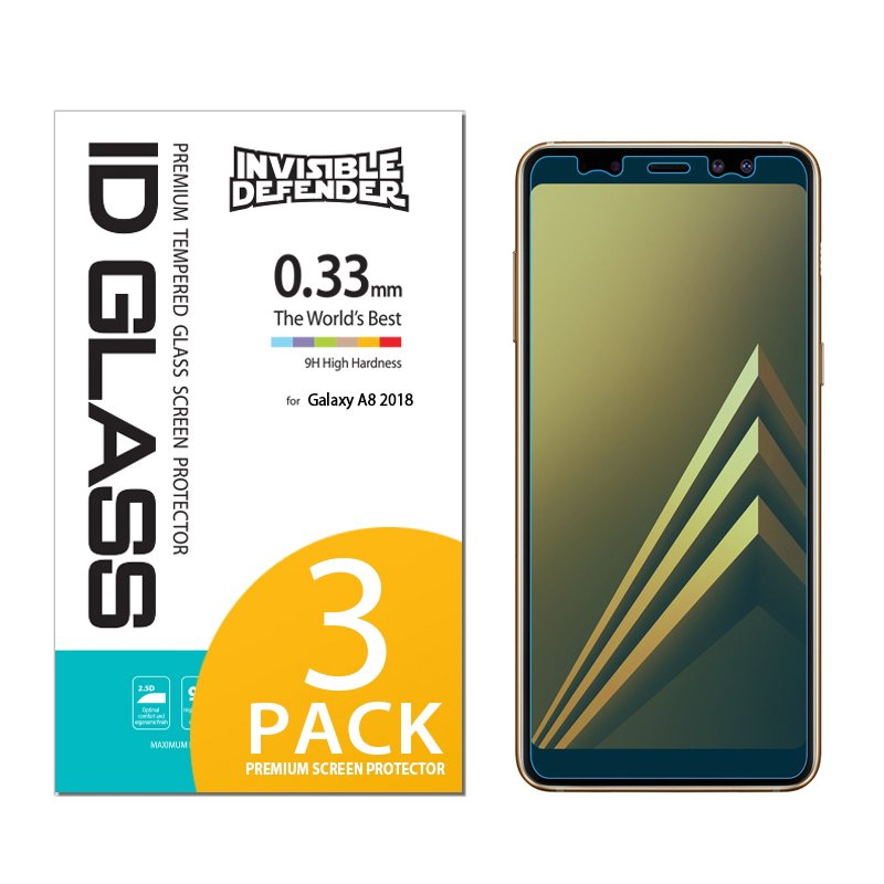 Pachet Sticla Securizata Samsung Galaxy A8 2018 A530 Ringke ID Defender