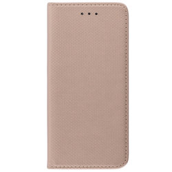 Husa Smart Book Samsung Galaxy S9 Flip Auriu