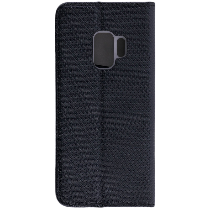 Husa Smart Book Samsung Galaxy S9 Flip Negru
