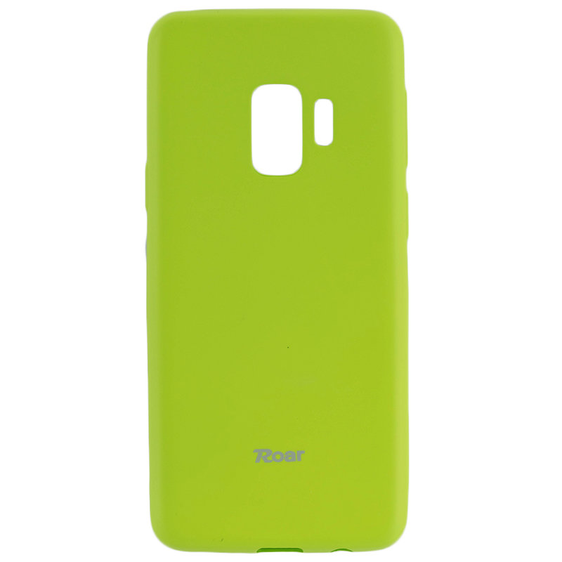 Husa Samsung Galaxy S9 G960 Roar Colorful Jelly Case Verde Mat