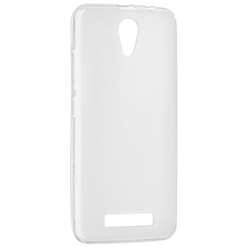 Husa Originala Allview A8 Lite Silicon Alb Transparent