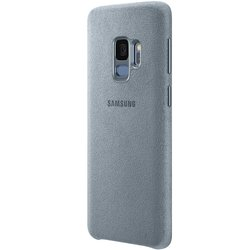 Husa Originala Samsung Galaxy S9 Alcantara Cover - Mint