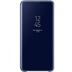 Husa Originala Samsung Galaxy S9 Plus Clear View Cover Blue