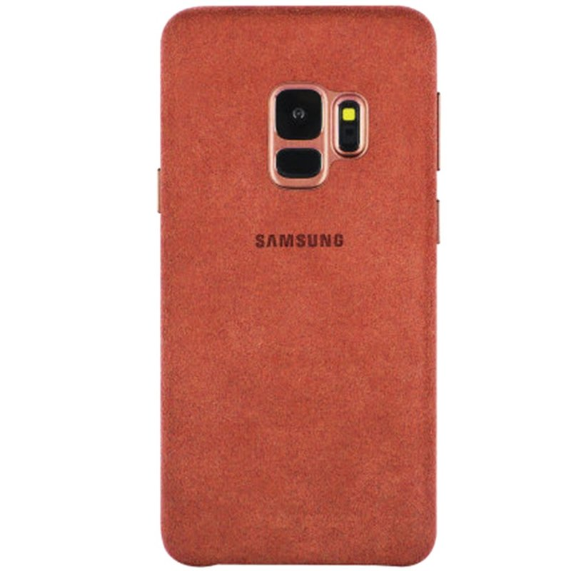 Husa Samsung Galaxy S9 Alcantara Orginal Cover - Red