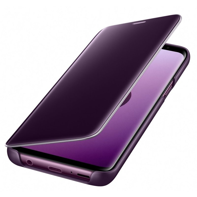 Husa Originala Samsung Galaxy S9 Clear View Cover Purple