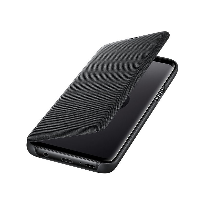 Husa Originala Samsung Galaxy S9 LED View Cover Negru