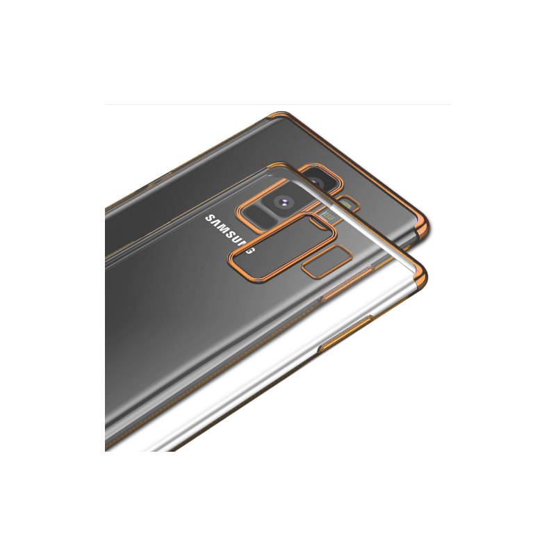 Husa Samsung Galaxy S9 Slim Clear Plating - Gold