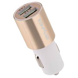Incarcator Auto Awei C-100 Dual USB 3.4A - Auriu