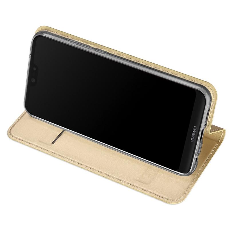 Husa Huawei P20 Lite Dux Ducis Flip Stand Book - Auriu