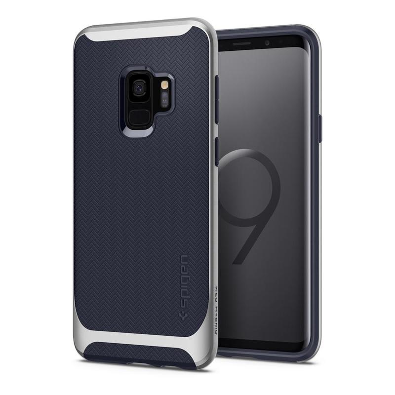 Bumper Spigen Samsung Galaxy S9 Neo Hybrid - Arctic Silver