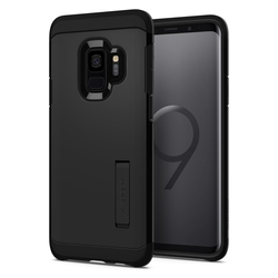 Bumper Spigen Samsung Galaxy S9 Tough Armor - Black