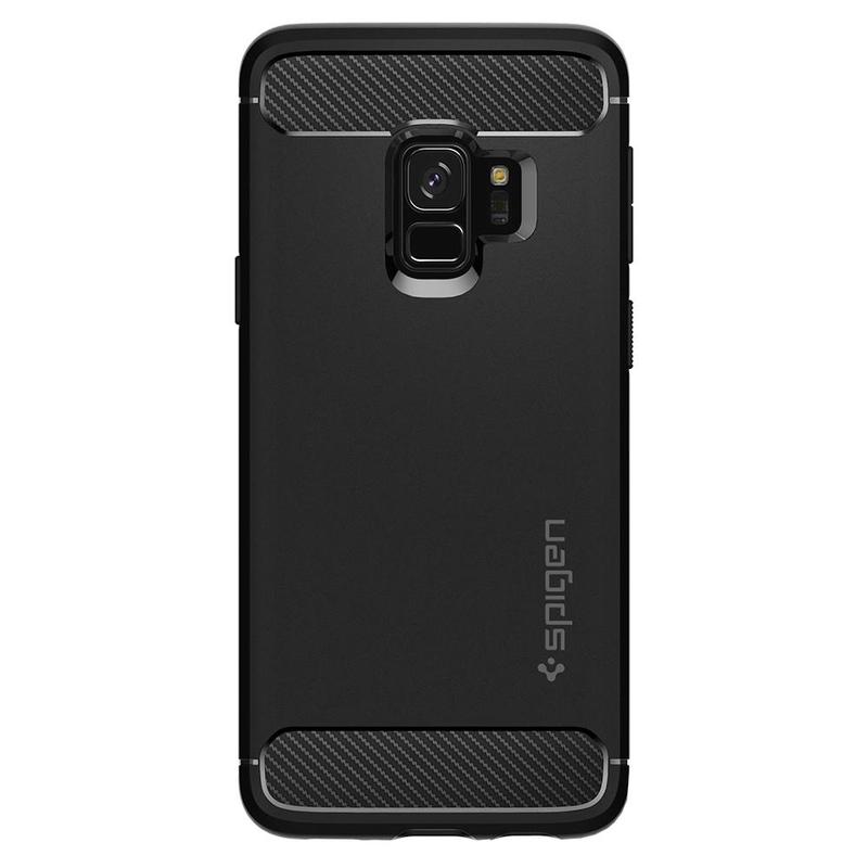 Bumper Spigen Samsung Galaxy S9 Rugged Armor - Black