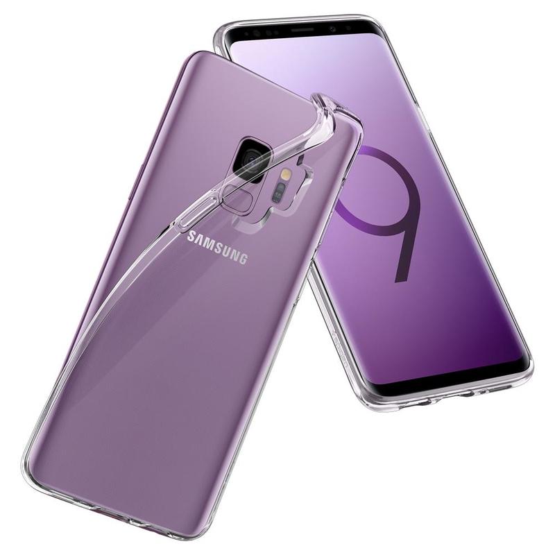 Carcasa Samsung Galaxy S9 Spigen Liquid Crystal - Clear