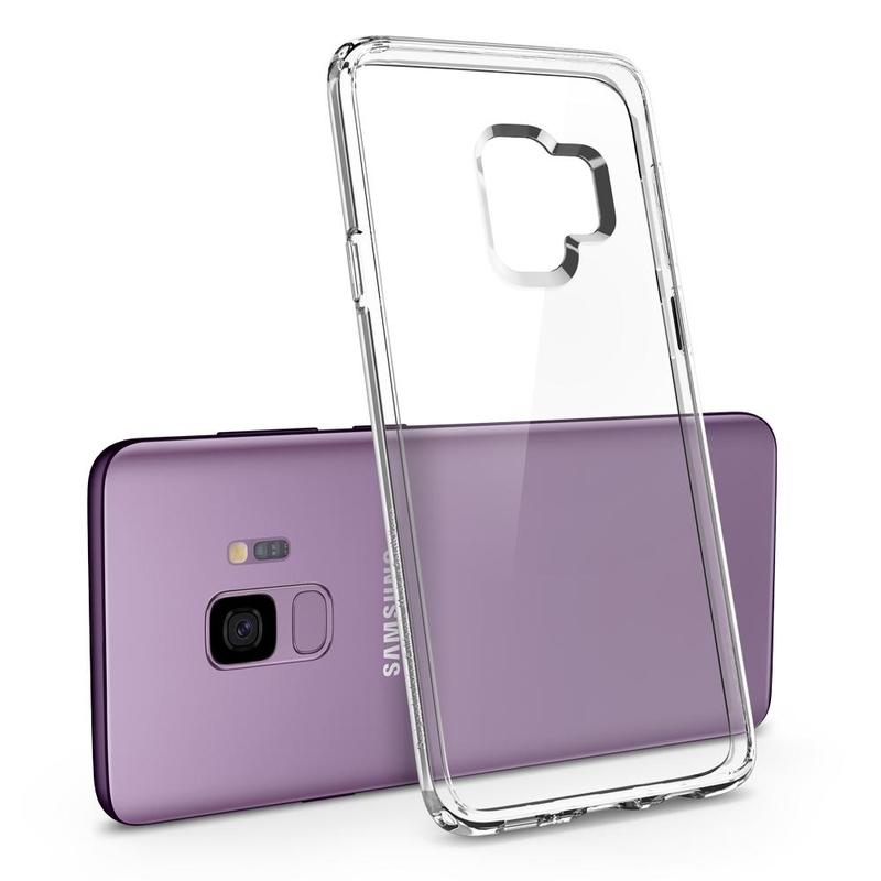 Bumper Spigen Samsung Galaxy S9 Ultra Hybrid - Crystal Clear