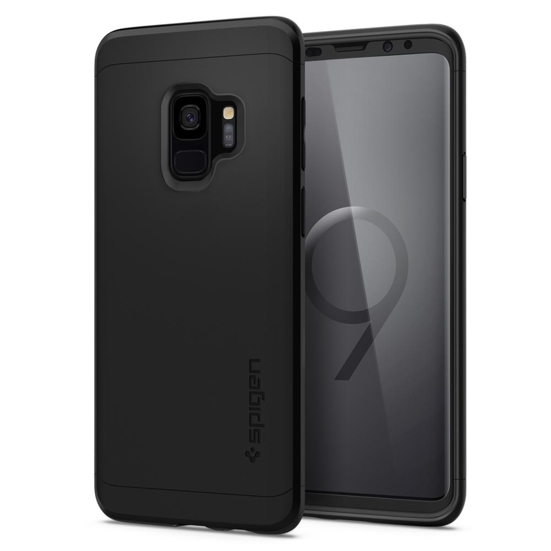 Bumper Spigen Samsung Galaxy S9 Thin Fit 360 - Black