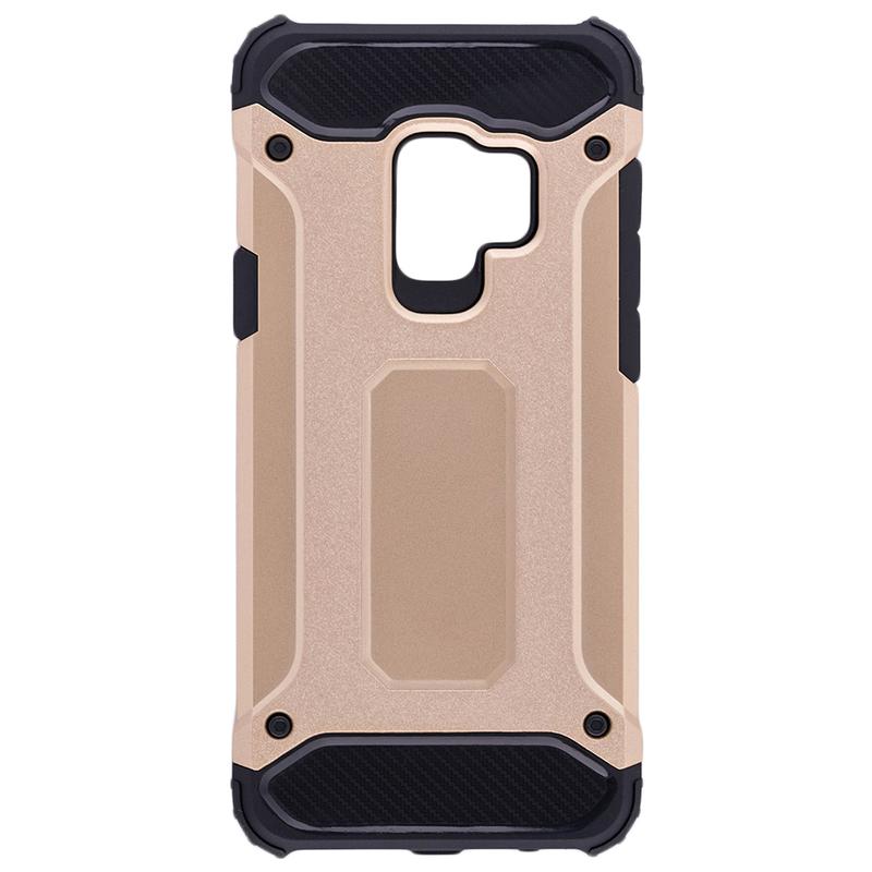 Husa Samsung Galaxy S9 Mobster Hybrid Armor - Auriu