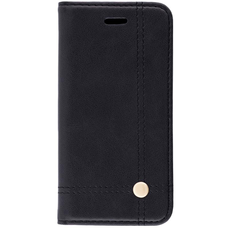 Husa iPhone SE, 5, 5S Flip Prestige Book Negru