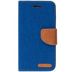 Husa Xiaomi Redmi 5A Book Canvas Albastru