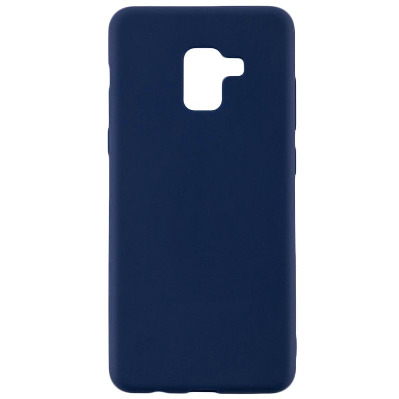 Husa Samsung Galaxy A8 Plus 2018 A730 Soft TPU - Albastru