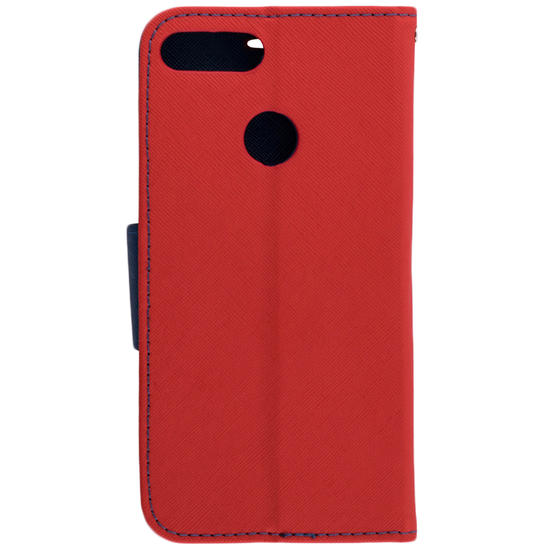 Husa Huawei P Smart Flip Rosu MyFancy