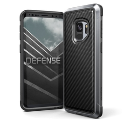 Husa Samsung Galaxy S9 X-Doria Defense Lux - Black Carbon