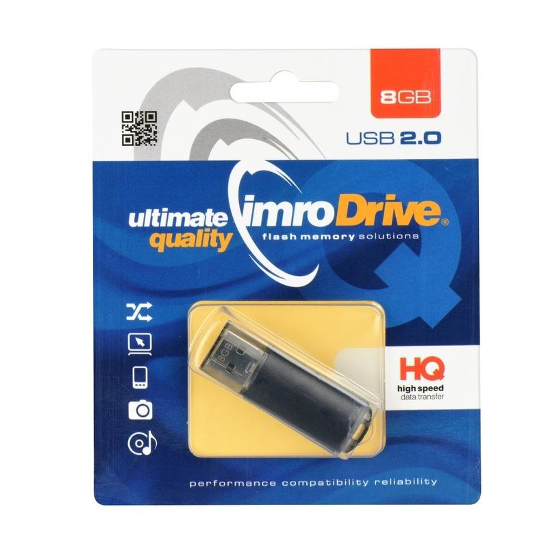 Stick USB 2.0 8 GB Imro Black