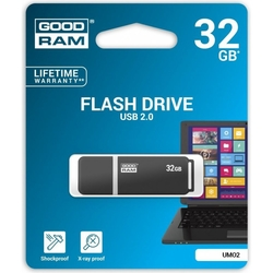 Stick USB 2.0 GOODRAM UMO2 32 GB - Black