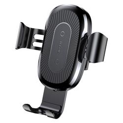 Suport Auto Grila De Ventilatie Baseus Cu Incarcare Wireless - WXYL-01 - Negru