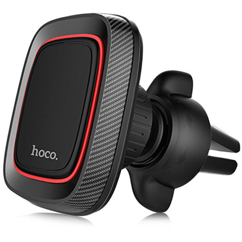 Suport Auto Pentru Grila De Ventilatie Magnetic HOCO CA23 Pentru Telefon - Negru