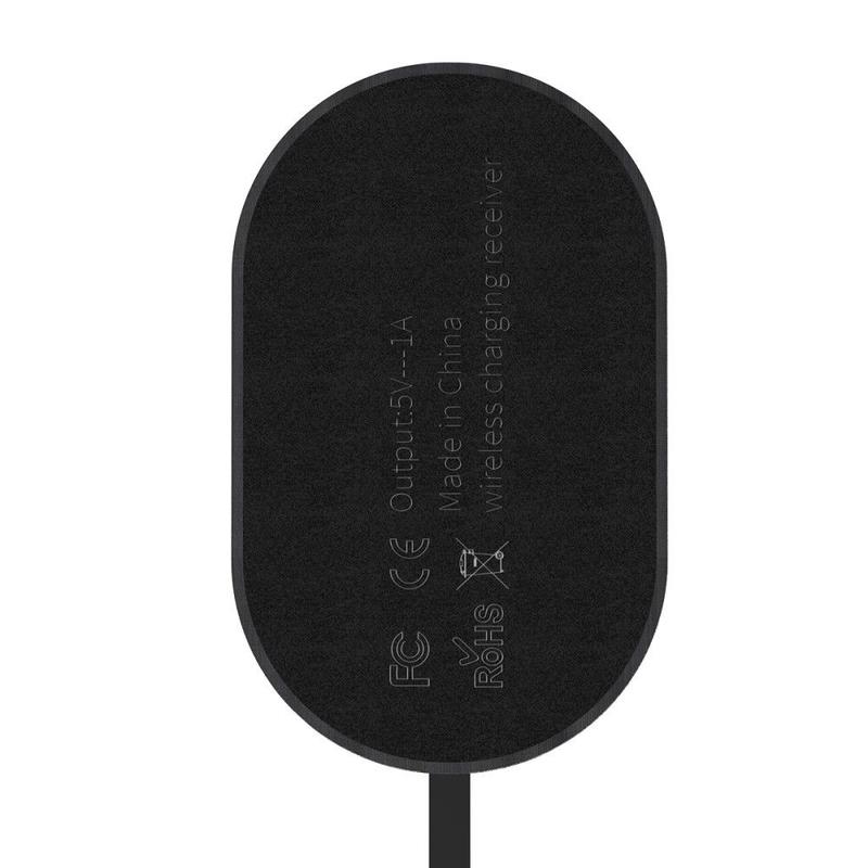 Adaptor Incarcare Wireless Baseus Receiver Cu Cablu Micro-USB 1A - WXTE-C01 - Negru