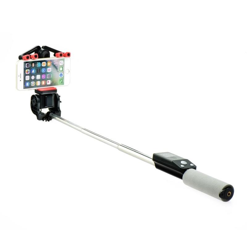 Suport Selfie 360 Cu Conexiune Wireless - Negru