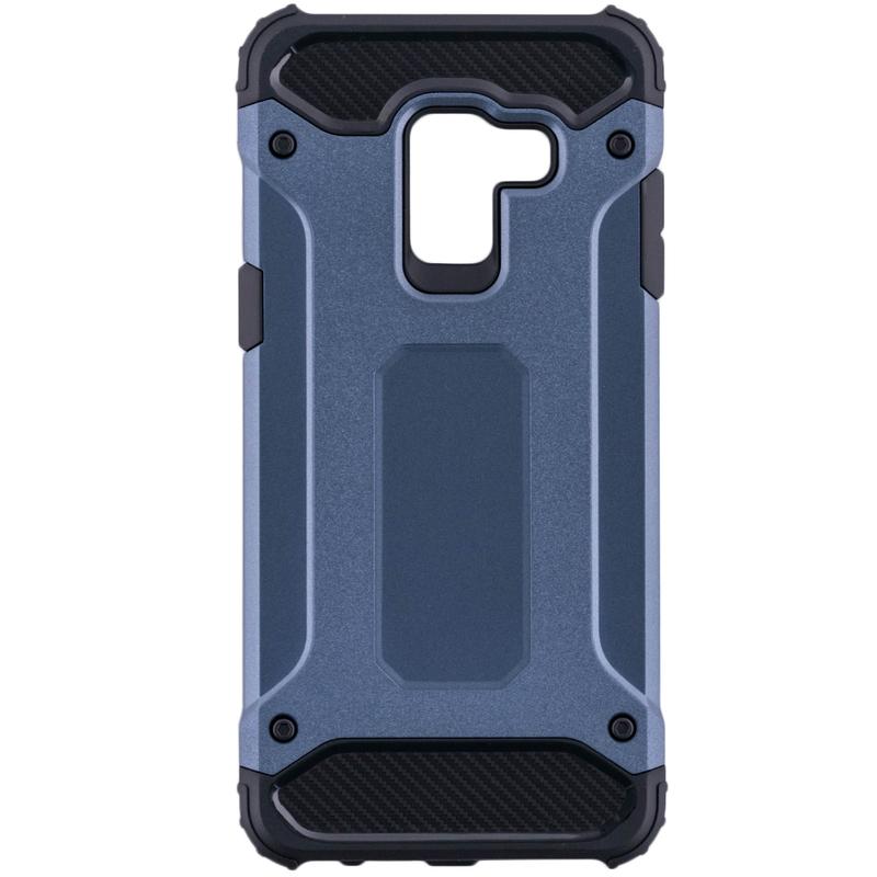 Husa Samsung Galaxy A8 2018 A530 Mobster Hybrid Armor - Albastru