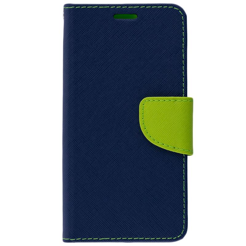 Husa Huawei P20 Flip Albastru-Verde MyFancy
