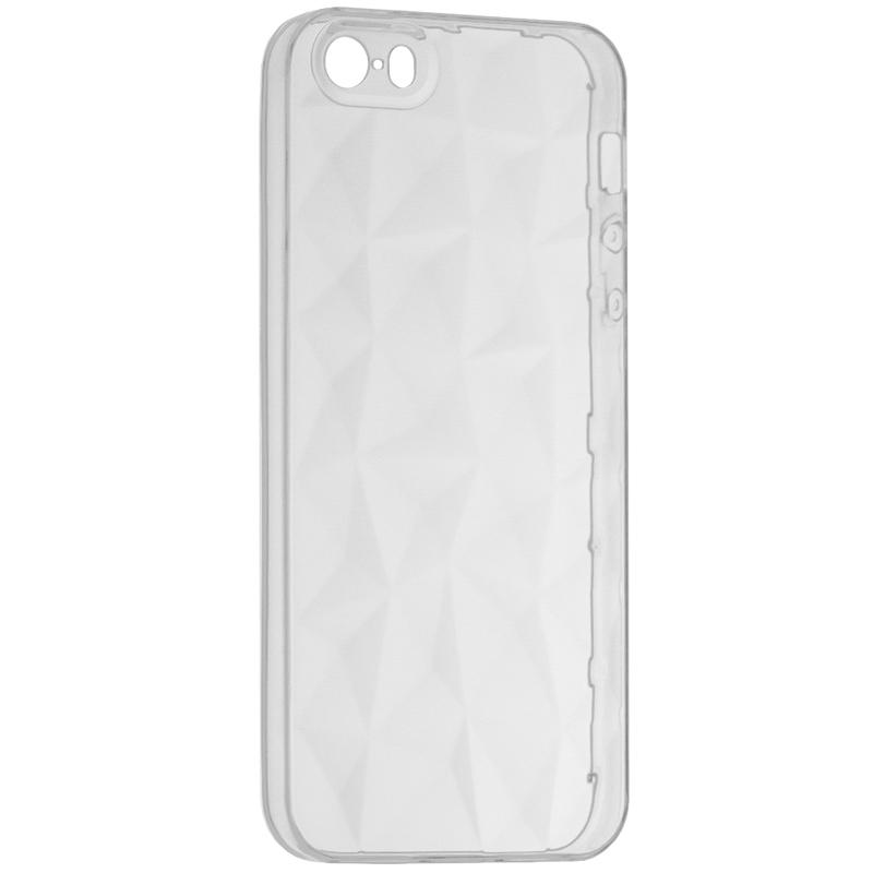 Husa Apple iPhone SE, 5, 5S Silicon TPU Prism - Clear