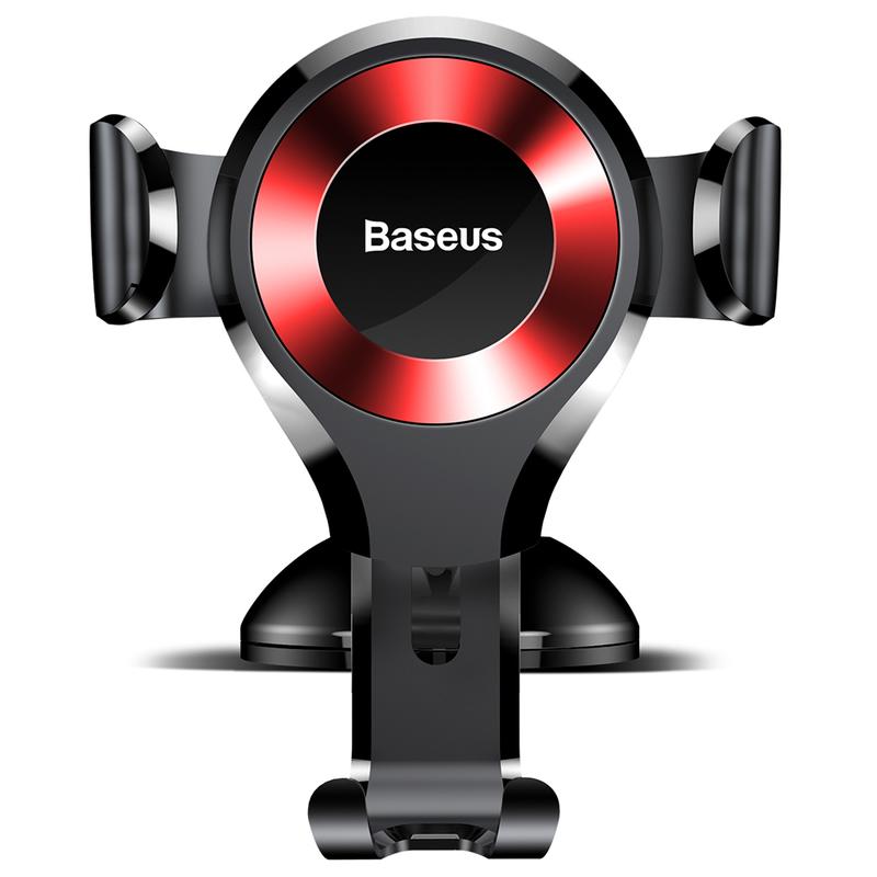 Suport Auto Baseus Osculum Series Pentru Telefon - Red