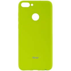 Husa Huawei P Smart Roar Colorful Jelly Case Verde Mat