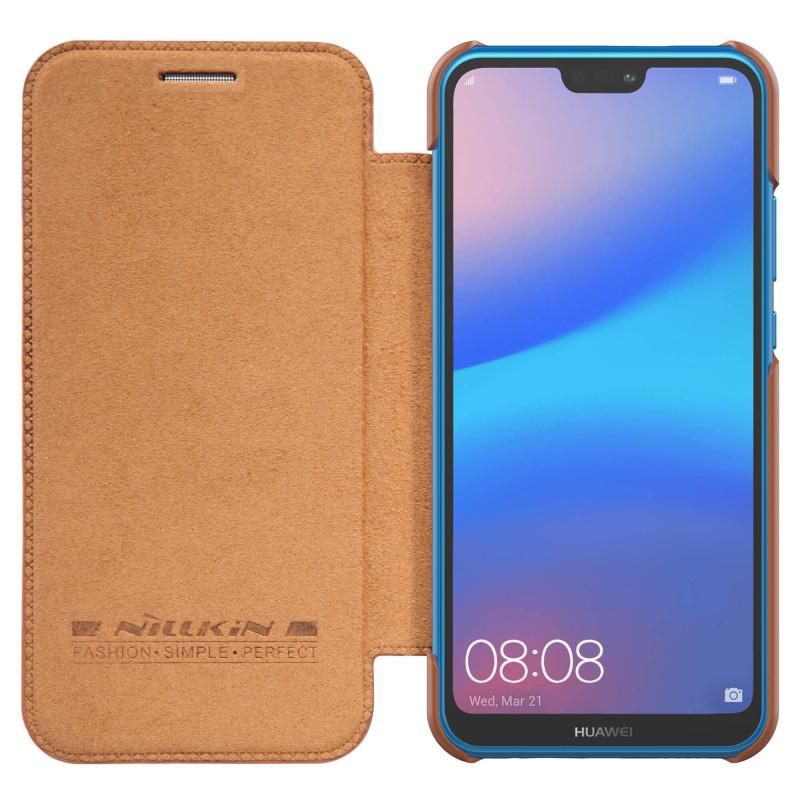 Husa Huawei P20 Lite Flip Nillkin QIN Maro