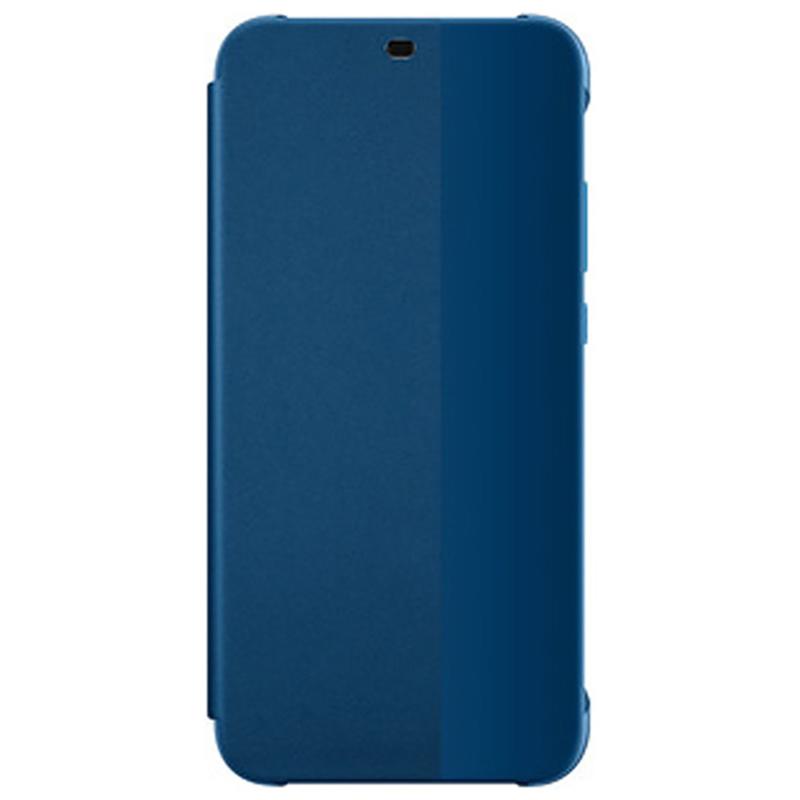 Husa Originala Huawei P20 Lite Smart View Cover Albastru