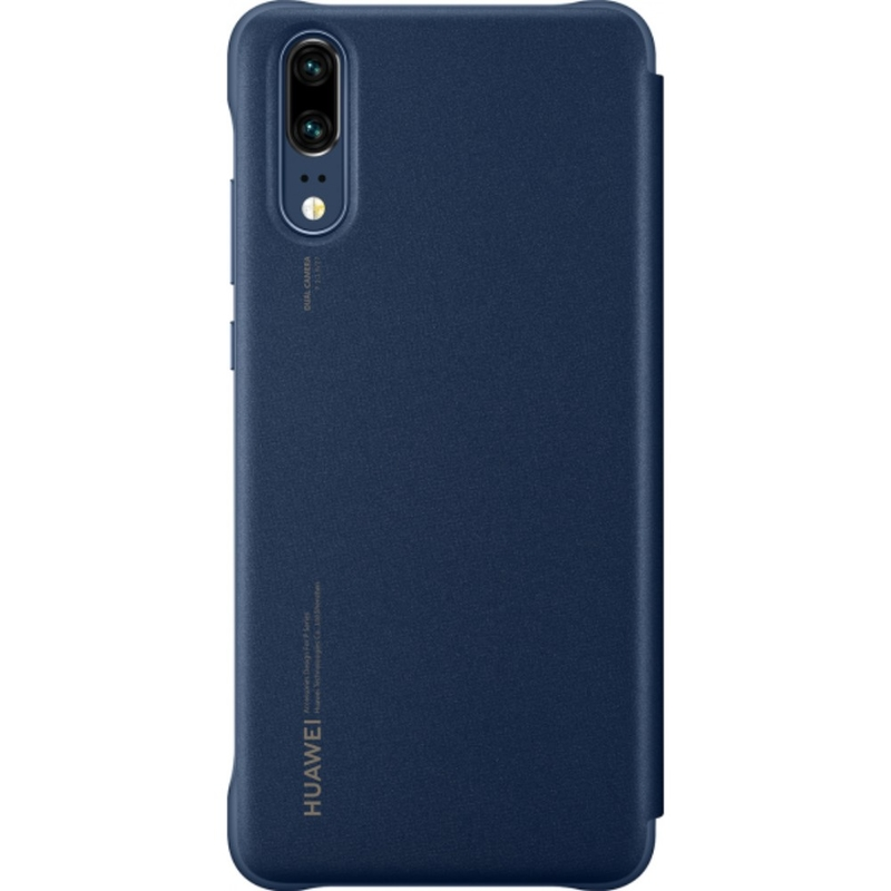 Husa Originala Huawei P20 Smart View Cover Albastru